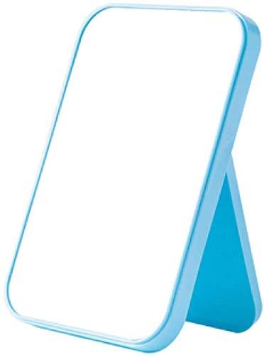 Miroir De Poche Portable Miroir De Maquillage Portable Pliant Bureau Commode Miroir De Décoration De Beauté Pour Chambre Salle De Bains21 * 15 Cm
