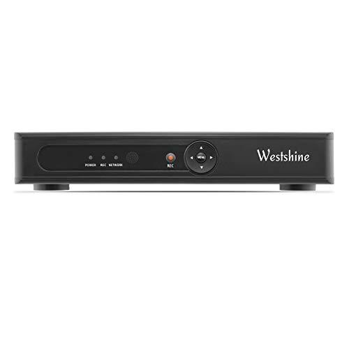 Westshine DVR 8 Kanal 1080N, H.264 CCTV Netzwerk DVR NVR, AHD/TVI/CVI/Analog/IP Hybrid 5-in-1 DVR für Sicherheit Überwachung Kamera, HDMI VGA Ausgang(Festplatte ist Nicht enthalten)