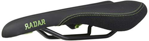 SDG Radar MTN CRO-mo - Sillín para Bicicleta de montaña, Unisex, Color Verde