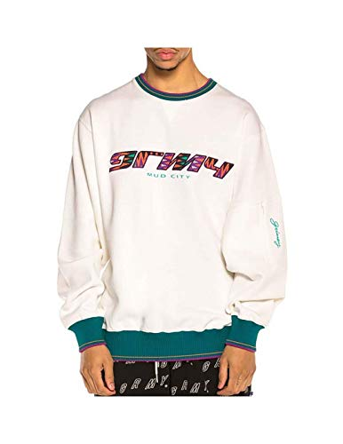 GRIMEY Sudadera Acknowledge Crewneck SS20 White-L