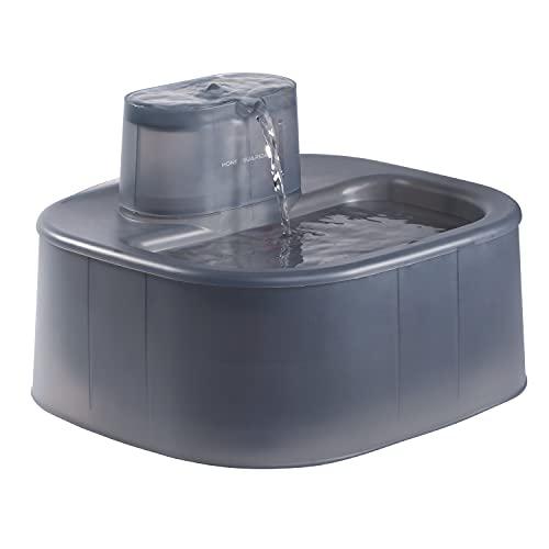 honeyguaridan W58 6L Fontaine à Eau Automatique pour Chien&Chat, Filtres Anti-odeurs et Mauvais goût, Pompe Ultra Calme, Idéale pour Chien Moyen et Grand et Animal Domestique