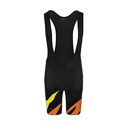 Uglyfrog Mode Sport & Freizeit Wear Atmungsaktive, Kurze Herren Fahrrad-Trägerhose, mit Sitzpolster, Bib Shorts