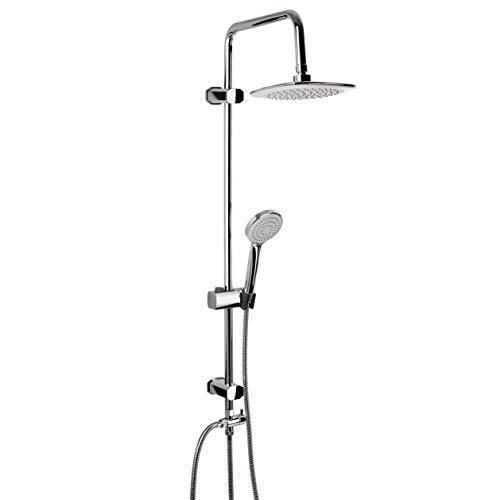 TATAY Fresh Colonne de Douche, ABS/Acier Inoxydable/Laton Laiton, Chrome, 20 x 40 x 110 cm