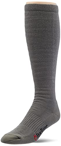 Fox River Men's Fatigue Fighter Over-The-Calf Socks with Upgraded Air Flow & Ultimate Comfort - Foliage Green - Large(Pack of 1)