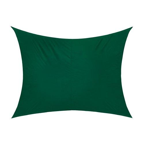jarolift Toldo Vela Rectangular/Repelente al Agua / 400 x 300 cm/Verde