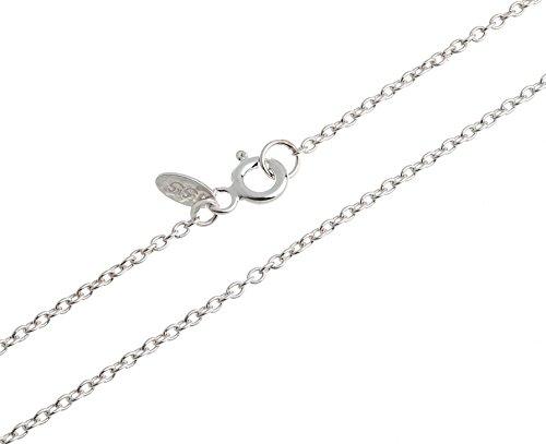 Erbskette, Silberkette für Kinder 1,6mm - 925 Silber - Länge wählbar 32-37cm