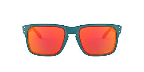 Oakley Men's Holbrook Non-polarized Iridium Square Sunglasses, Aero Baslam, 57.0 mm