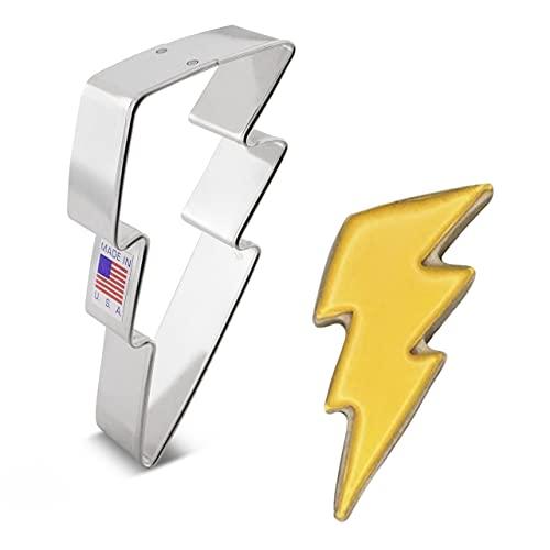 Ann Clark Cookie Cutters Lightning Bolt Cookie Cutter, 4.25