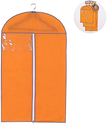 60 30 110cm szdc88 Funda Antipolvo Almacenamiento Organizador Armario Colgar Bolsa Reino Unido Household Fucsia - como en la Imagen Show 60 30 90cm