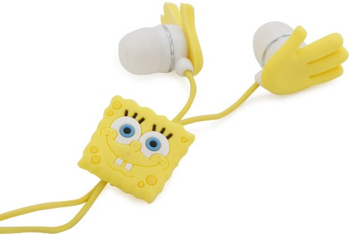 Nickelodeon Spongebob Sculpted Earbuds 11662