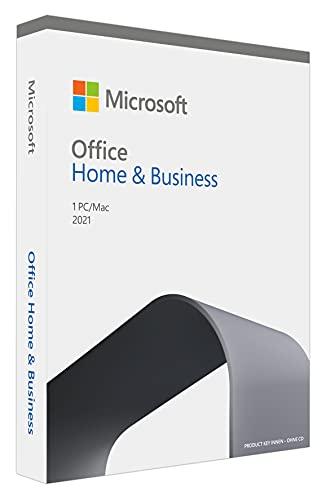 Microsoft Office 2021 Home und Business multilingual | 1 PC (Windows 10/11) / Mac, Dauerlizenz | Box