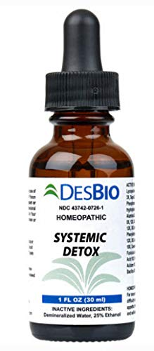 Detox products Desbio Systemic Detox Homeopathic Drops