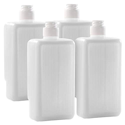 PEARL Flüssig-Seife: 4er-Set Seifen HP20 Sanolin Neutral Seifenspender (Nachfüllflaschen für Seife)
