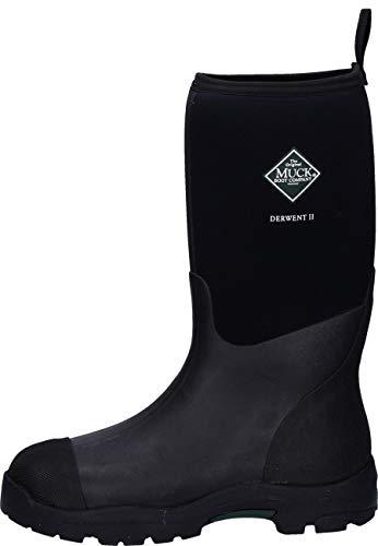 Muck Boots Unisex-Erwachsene Derwent Ii Gummistiefel, Schwarz (Black), 46 EU
