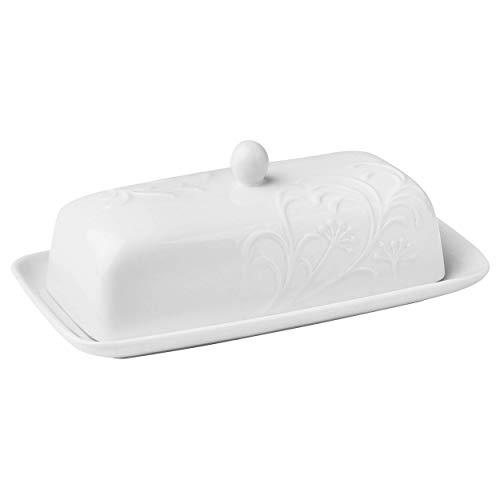 Cherish Pattern Butter Dish