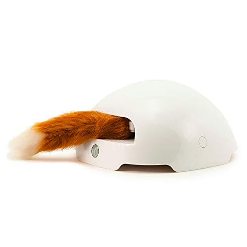 PetSafe FroliCat Katzenspielzeug Fuchsbau, interaktives Beschäftigungsspielzeug mit Fuchsschwanz