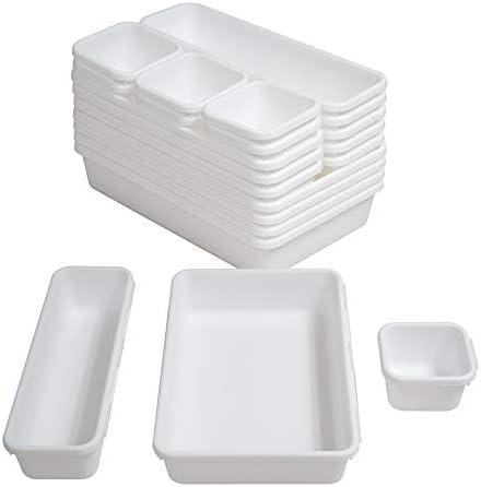 Top 10 Best wite bathroom plastic drawer organizer Reviews