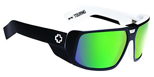 Spy Optic Touring Wrap Sunglasses,White Wall,64 mm