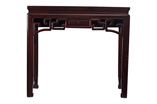 Fine Asianliving Antique Small Chinese Sidetable Details Drawer - Zhejiang, China