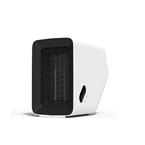 GR-Furniture 500W PTC-Keramik-Raumheizung, 220V-Mini-Kein-Blatt-Heizer mit Schnellwärme, stummes Design, Überhitzung/Neigung Schutz for Home Office Niedrige Energie