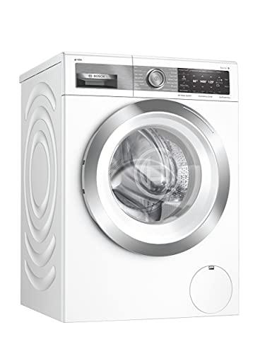 Bosch WAX28EH1GB Serie 8 Freestanding Washing Machine, with i-DOS intelligent Dosing & SpeedPerfect, 9kg load, 1400 rpm spin - White