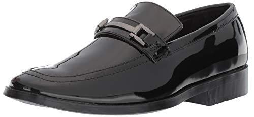 Stacy Adams Men's Ambassador Tuxedo Slip-on Dress Loafer, black patent, 12 M US