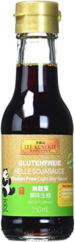 Lee Kum Kee Soja-Sauce hell glutenfrei (aus China, natürlich gebraut, ohne Geschmacksverstärker, würzig), 1er Pack (1 x 150ml)