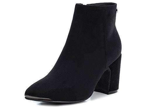 XTI Mojo Stiefelletten/Boots Damen Schwarz - 41 - Low Boots Shoes