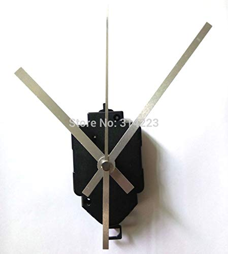 20 Set Quartz Pendulum Clock Movement Kit Spindle Mechanism Long Shaft 22mm Jump Seconds Tick Sound Mechanism