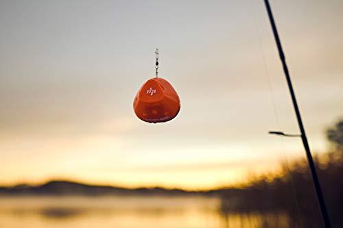 Deeper Start Smart Fish Finder - Castable Wi-Fi Fish Finder for Recreational Fishing from Dock, Shore or Bank, Black/Orange, 2.4