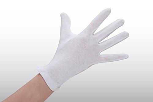 600 Paar Nylonhandschuhe Größe 13 - weiß - EN 420 - KAT. I Trikothandschuhe - lebensmitteltauglich