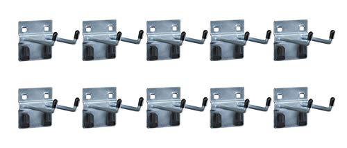 Doppelhaken für Werkzeuge, 10 Stück