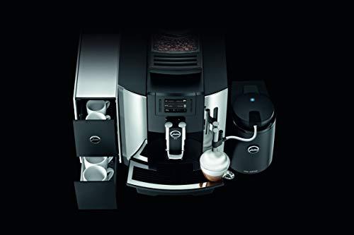 Jura 15145 Automatic Coffee Machine WE8, Chrome