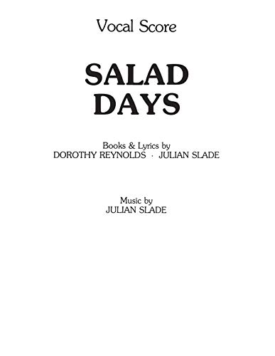 Salad Days (Vocal Score)
