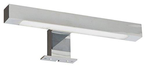 Ranex 3000.087 LED Bad-und Spiegelleuchte für das Badezimmer [4,4 Watt], 275 Lumen / 120° Abstrahlwinkel / warm weiß