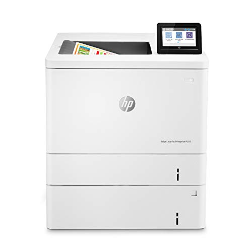 HP Color Laserjet Enterprise M555x Duplex Printer with Extra Paper Tray (7ZU79A)