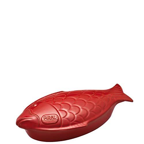 Paderno - Pesciera Cm 41 Rosso Terracotta Piral - 1870