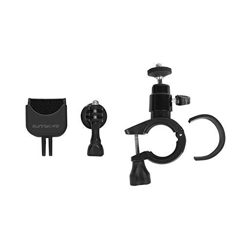 Meijunter Fahrrad Halterung Erweiterung Klammer + 1/4 Schraube Adapter für DJI Osmo Pocket - Motorrad Lenker Halter Klemme Stabilisator Zubehörteil
