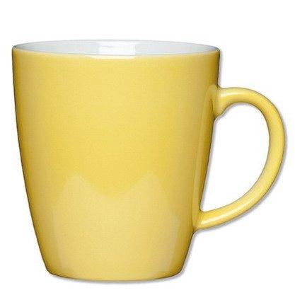1x Henkelbecher Inhalt 0,35 ltr - Höhe 9,6 cm - Pappbecher, Kaffeetasse