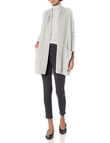 Daily Ritual Fine Gauge Stretch Cardigan Sweater Sweaters, Cloud Gris, US L (EU L - XL)