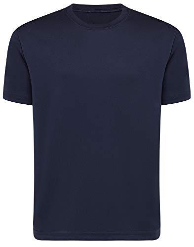Opna Youth Boys Dri Fit Athletic T Shirts for Boys & Girls Sports Undershirt – Youth & Teen Sizes Navy-M