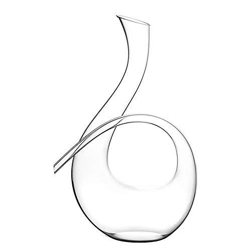 AJMINI Hand Geblazen Diamond Whiskey Decanter Lead Gratis Glas Ontwerper Decanters, Decoratieve Bar Set Tool voor Scotch, Bourbon, Rum, Wijn, Liquors of Geesten
