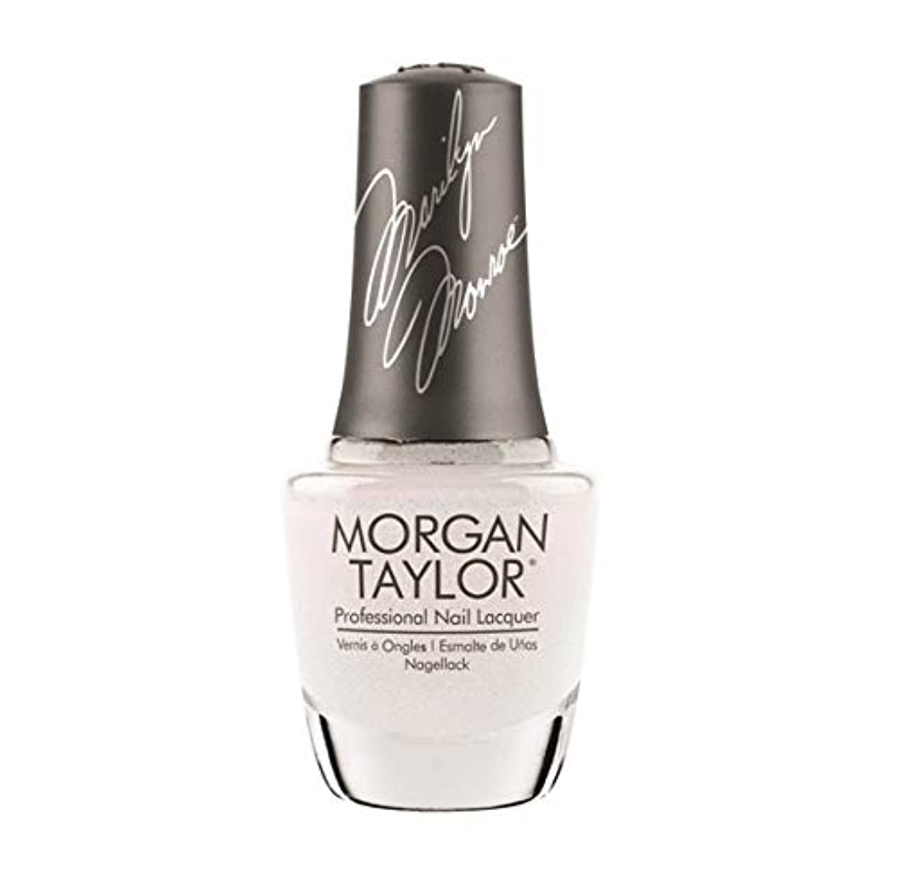 五月僕の反論者Morgan Taylor Nail Lacquer - Forever Marilyn Fall 2019 Collection - Some Girls Prefer Pearls - 15ml / 0.5oz