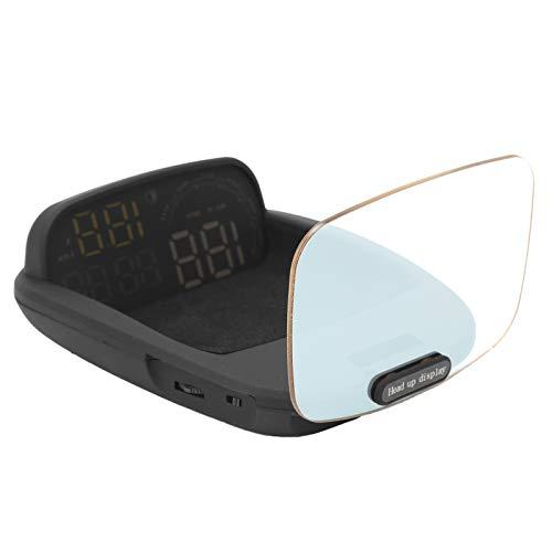 【Cadeau d'Avril】 Head Up Display, Head Up Display Car, PC + ABS Car Head Up Display Proyector RPM para Velocidad por Hora