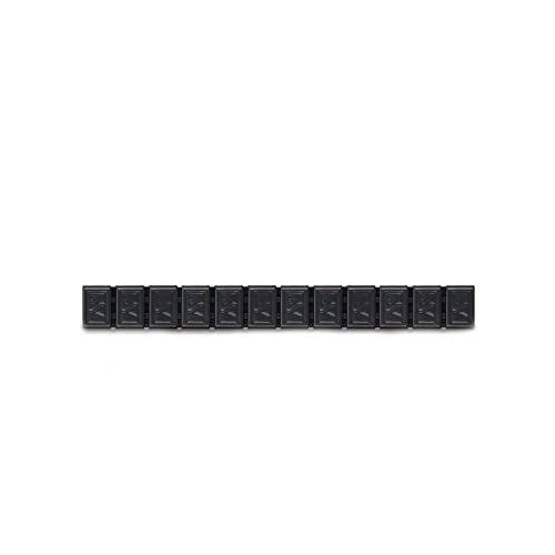 6x Klebegewichte Alufelgen Typ380 60g anthrazit Hofmann Power Weight, Klebegewichte für Alufelgen Leichtmetallfelgen, Auswuchtgewichte Klebegewichte