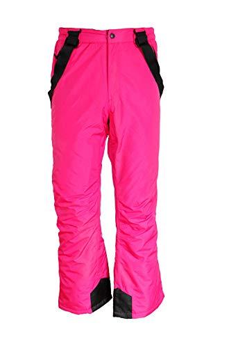 Unbekannt Kinder Mädchen Skihose Schneehose Snowboardhose Winterhose Pink 134/140