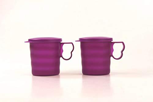 Tupperware Taza Especial de 350 ml Oscuro púrpura (2) 34465