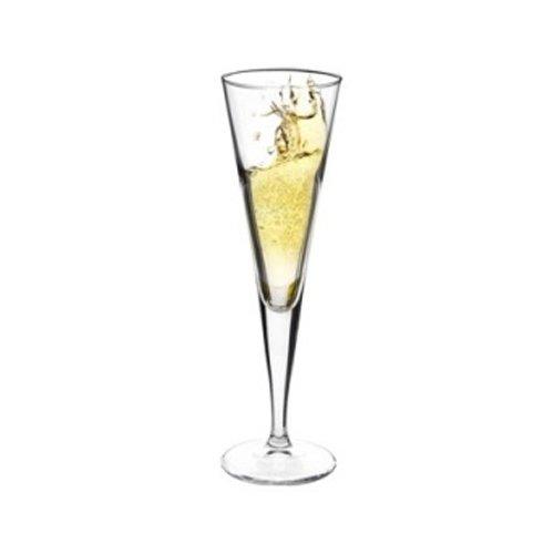 Lot de 6 verres à pied 11 cl pour Prosecco Champagne Flutes à Champagne – BORMIOLI Ypsilon