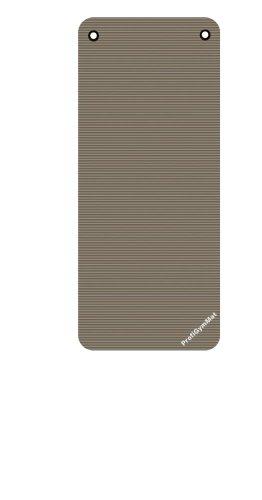 Trendy Sport Grevinga Professionale gymmat 140(140x 60x 1cm) con Occhielli, Grau, 1 cm