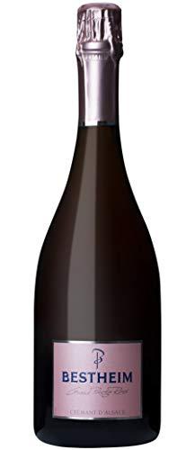 Bestheim Crémant dAlsace Grand Prestige Rose 2017 0.75 L - Lot de 3